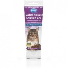 Pet Ag Hairball Natural Solution Gel Supplement Gently Helps Prevent Hairballs For Cats 100g