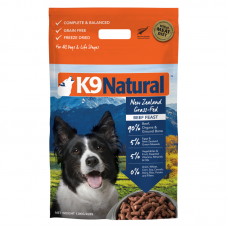 K9 Natural New Zealand Grass-Fed Beef Feast Freeze Dog Dried Food 1.8kg
