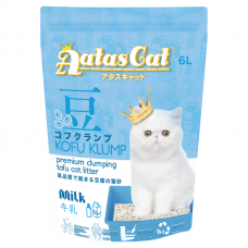Aatas Kofu Klump Tofu Cat Litter Milk 6L (6 Packs)