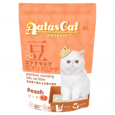 Aatas Kofu Klump Tofu Cat Litter Peach 6L