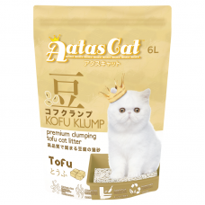 Aatas Kofu Klump Tofu Cat Litter Original 6L (6 Packs)