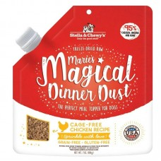 Stella & Chewy's Freeze Dried Raw Marie's Magical Dinner Dust Cage Free Chicken Dog Food 7oz