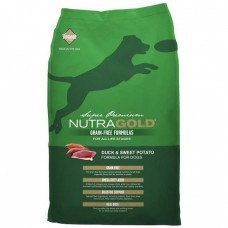NutraGold Grain Free Duck & Sweet Potato Dog Dry Food 13.6kg