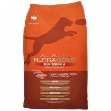 NutraGold Grain Free Turkey & Sweet Potato Dog Dry Food 13.6kg