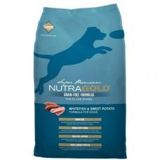 NutraGold Grain Free Whitefish & Sweet Potato Dog Dry Food 2.25kg