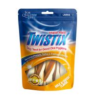 Twistix Wheat Free Milk & Cheese for Oral Hygiene Large Dog Treat 156g