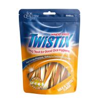Twistix Wheat Free Milk & Cheese for Oral Hygiene Small Dog Treat 156g