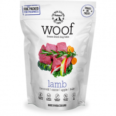 Woof Freeze Dried Raw Dog Food Lamb 50g Bundle (2 Packs)