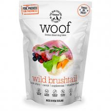 Woof Freeze Dried Raw Dog Food Wild Brushtail 50g Bundle (2 Packs)