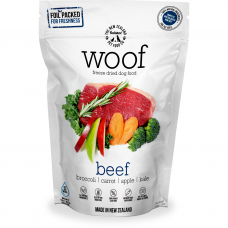 Woof Freeze Dried Raw Food Beef Dog Dried Food 1.2kg