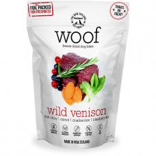 Woof Freeze Dried Raw Dog Food Wild Venison 50g Bundle (2 Packs)