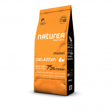 Naturea Grain Free Chicken for Cats and Kittens Dry Food 2kg