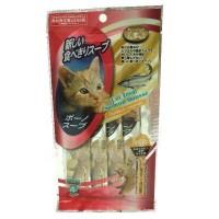 Pet Village Cat Puree Treat Salmon Mousse (Hairball Control) 14g×4