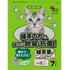 QQ Kit Paper Cat Litter Green Tea 7L (3 Packs)