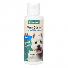 NaturVet Tear Stain Topical Remover For Dogs & Cats 118ml