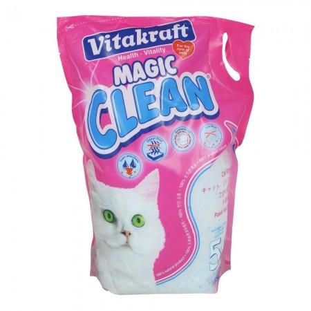 Vitakraft Magic Clean Crystals Unscented 5L (4 Packs)