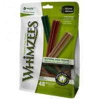 Whimzees Value Bag Stix X-Small Dog Dental Chews 48+8's