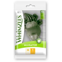 Whimzees Single Pack Alligator Medium Box Dog Dental Chews - 1pc