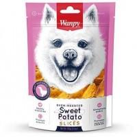 Wanpy Soft Oven Roasted Sweet Potato Slices Dog Treat 100g