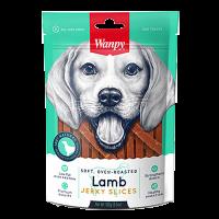 Wanpy Oven Roasted Lamb Jerky Slices Dog Treat 100g