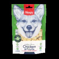 Wanpy Chicken & Fruits Freeze Dried Dog Treats 40g