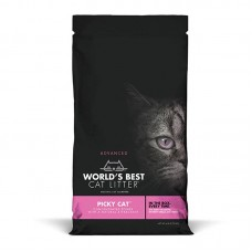 World's Best Advanced Multiple Cat Clumping Litter for Picky Cat 2.72kg