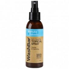 WashBar Itch Soothe Manuka & Kakadu Topical Spray For Dogs 125mL