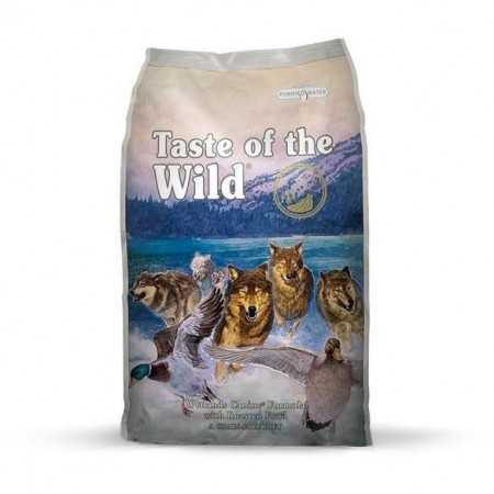 Taste of the Wild Dog Wetlands With Roasted Fowl Dog Dry Food 12.2kg