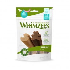 Whimzees Puppy Chiot Dental Chews M/L 240g  (3 Packs)