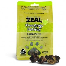 Zeal Free Range Naturals Lamb Puff Dogs Treats 85g (3 Packs)