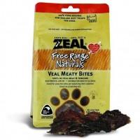 Zeal Free Range Naturals Veal Meaty Bites Dogs Treats 125g