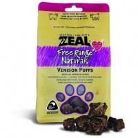 Zeal Free Range Naturals Venison Puff Dogs Treats 85g (3 Packs)