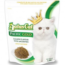Aatas Cat Adult Catfood Pacific Gold Salmon Flavour With Anchovies Dry Cat Food 1.2kg