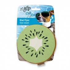 AFP Chill Out Kiwi Flyer Dog Toys