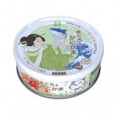 Akane Tuna & Crab Stick Cat in Thick Gravy Canned Food 75g (12 Cans)