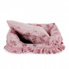 AFP Bolster Bed Medium Pink