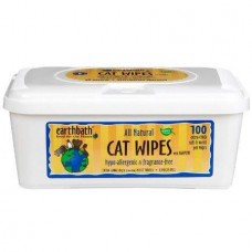 Earthbath Cat Wipes Hypo-Allergenic & Fragrance Free 100 wipes