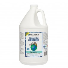 Earthbath Conditioner Oatmeal & Aloe Fragrance Free for Dog & Cat 1 Gallon