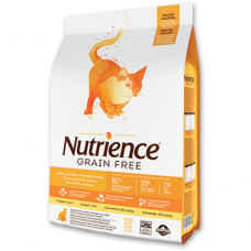 Nutrience Grain Free Turkey, Chicken & Herring Dry Cat Food 2.5kg