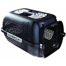 Catit Voyageur Cat Carrier (M) Black White Tiger Print