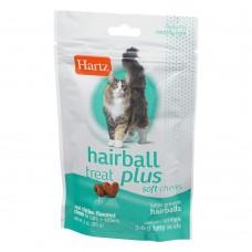 Hartz Hairball Treat Plus Soft Chews 85g