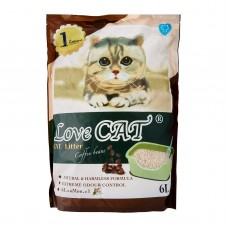 Love Cat Tofu Cat Litter Coffee 6L (4 Packs)