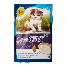 Love Cat Tofu Cat Litter Corn 6L (4 Packs)