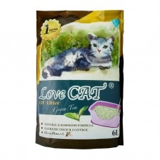Love Cat Tofu Cat Litter Green Tea 6L (4 Packs)