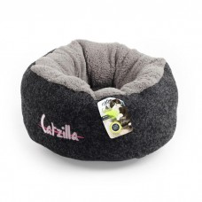 AFP Catzilla Mellow Cat Bed Black