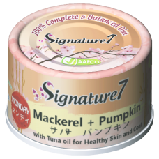 Signature7 Mackerel with Pumpkin (Monday) Cat Canned Food 70g (24 Cans)