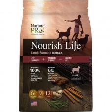 Nurture Pro Nourish Life Lamb Formula For Adult Dog Dry Food 4lb