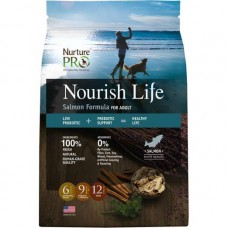 Nurture Pro Nourish Life Salmon Formula For Adult Dog Dry Food 12.5lb + Free 4lb
