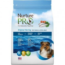 Nurture Pro Original Herring For Active & Young Adult Dog Dry Food 12.5lb + Free 4Lb