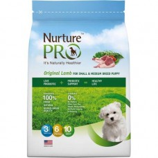 Nurture Pro Original Lamb For Small & Medium Breed Puppy Dog Dry Food 12.5lb + Free 4Lb